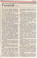 Funeral for Deputy Don Rice December 14, 1985 news article