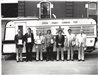 2nd from right-William Hocking, 3rd from right Arthur Kelsey Command Center 1980
