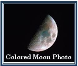 Colored Moon