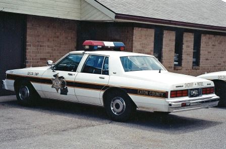 1990 Chevy Caprice Patrol Car